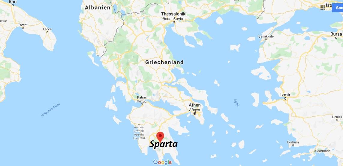 Wo Liegt Sparta