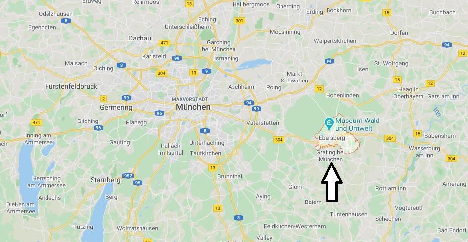 Wo liegt Ebersberg (85560)? Wo ist Ebersberg