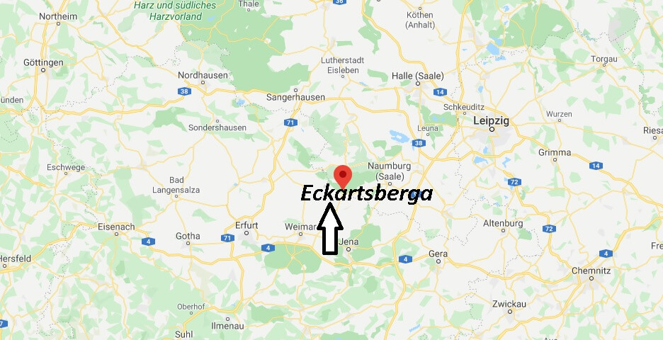Wo liegt Eckartsberga (06648)? Wo ist Eckartsberga