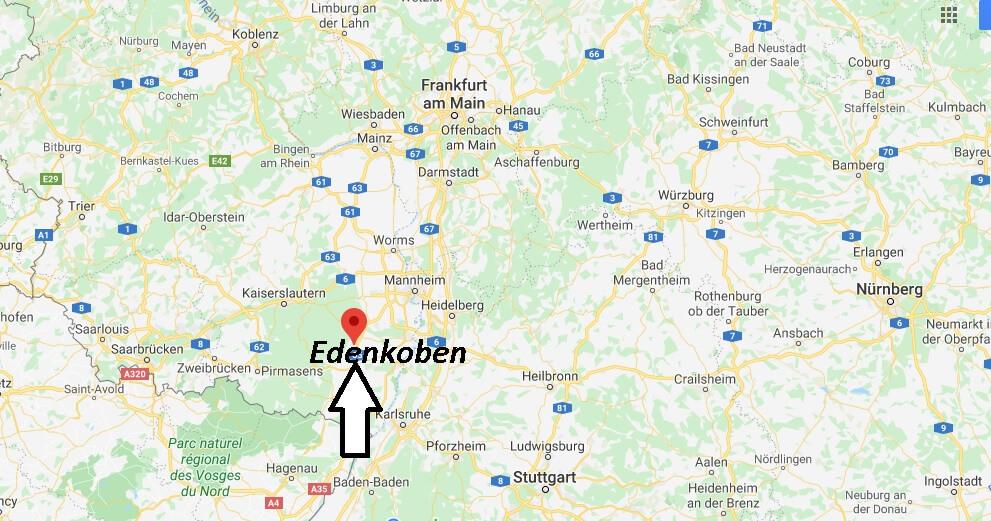 Wo liegt Edenkoben (67480)? Wo ist Edenkoben