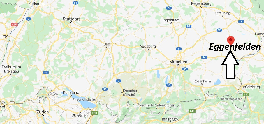 Wo liegt Eggenfelden (84307)? Wo ist Eggenfelden