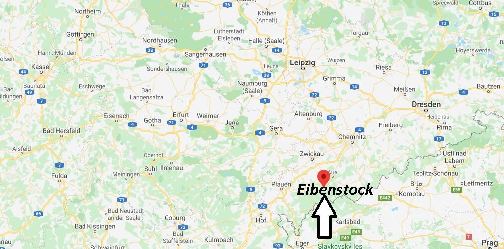 Wo liegt Eibenstock? Wo ist Eibenstock