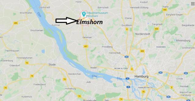 Wo liegt Elmshorn (25337)? Wo ist Elmshorn