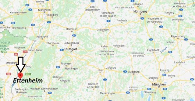 Wo liegt Ettenheim (77955)? Wo ist Ettenheim