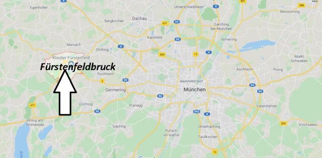 Wo liegt Fürstenfeldbruck (82256)? Wo ist Fürstenfeldbruck