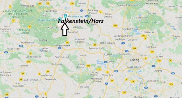 Wo liegt Falkenstein/Harz? Wo ist Falkenstein/Harz
