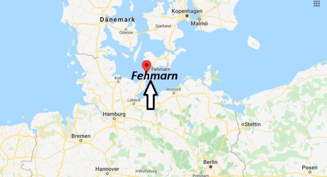 Wo liegt Fehmarn (23769)? Wo ist Fehmarn