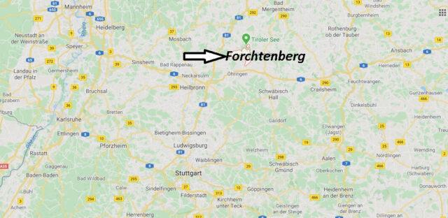 Wo liegt Forchtenberg? Wo ist Forchtenberg