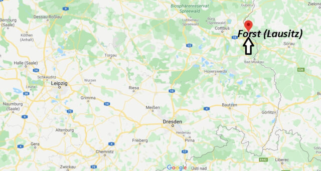 Wo liegt Forst (Lausitz) (03149)? Wo ist Forst (Lausitz)
