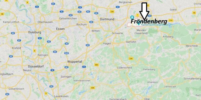 Wo liegt Fröndenberg (58730)? Wo ist Fröndenberg