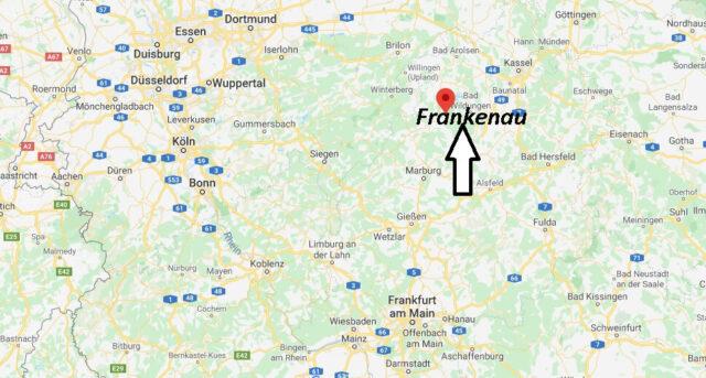 Wo liegt Frankenau (35110)? Wo ist Frankenau