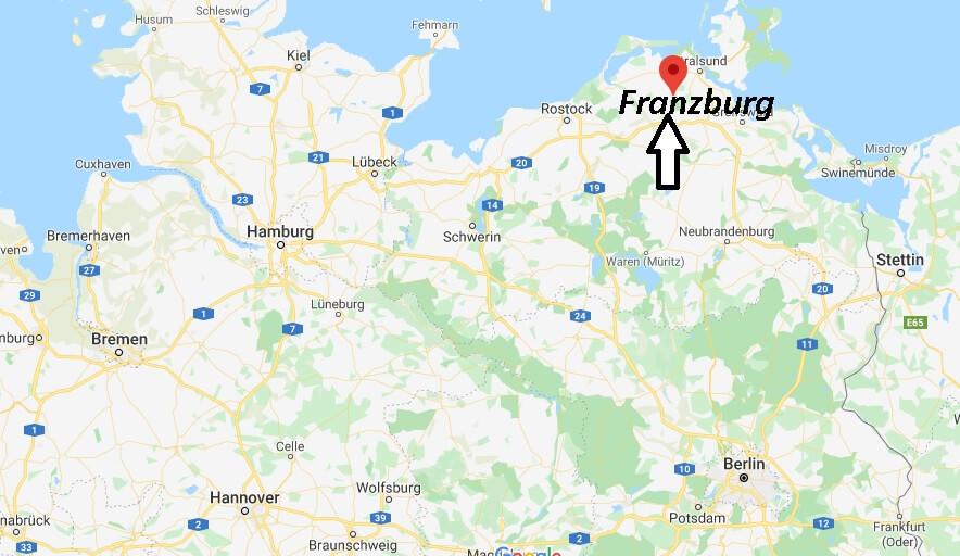 Wo liegt Franzburg (18461)? Wo ist Franzburg