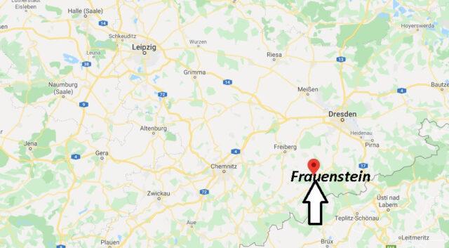 Wo liegt Frauenstein (09623)? Wo ist Frauenstein
