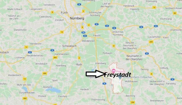 Wo liegt Freystadt (92342)? Wo ist Freystadt