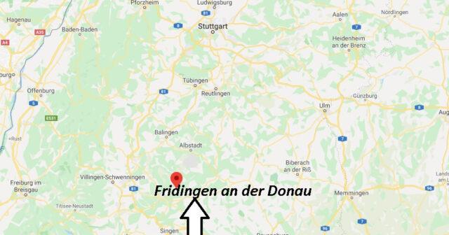 Wo liegt Fridingen an der Donau? Wo ist Fridingen an der Donau