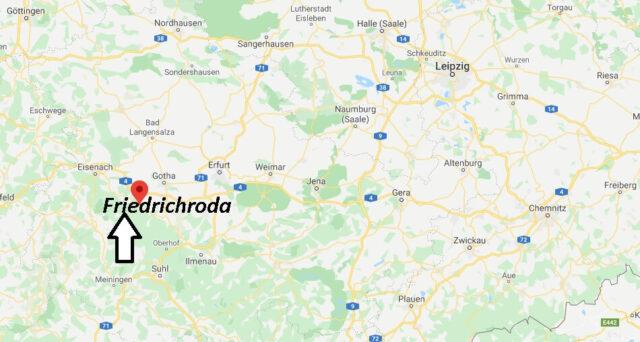 Wo liegt Friedrichroda (99894)? Wo ist Friedrichroda