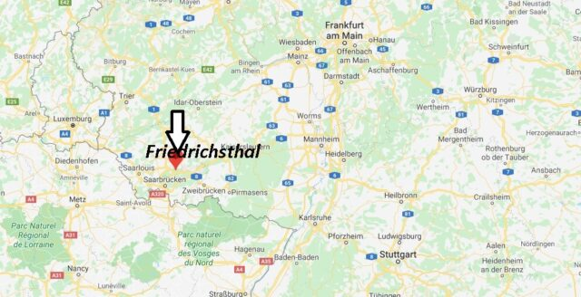 Wo liegt Friedrichsthal (66299)? Wo ist Friedrichsthal