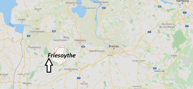 Wo liegt Friesoythe (21169)? Wo ist Friesoythe
