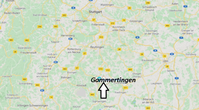 Wo liegt Gammertingen (72501)? Wo ist Gammertingen