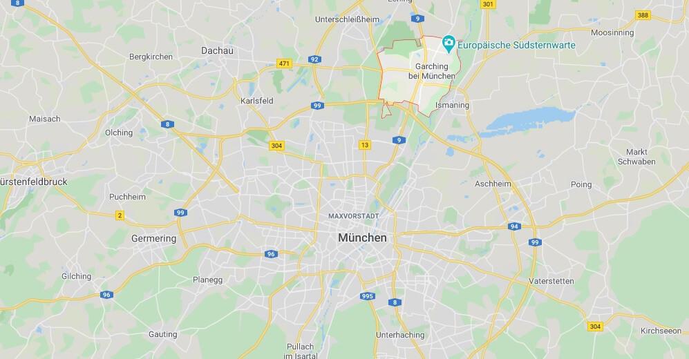 Wo liegt Garching bei München (85748)? Wo ist Garching bei München