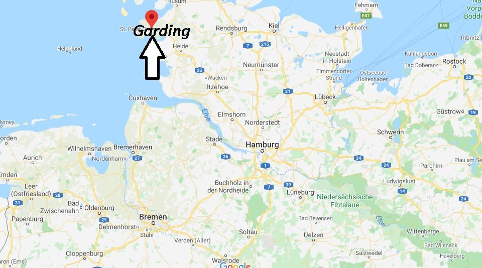 Wo liegt Garding (25836)? Wo ist Garding