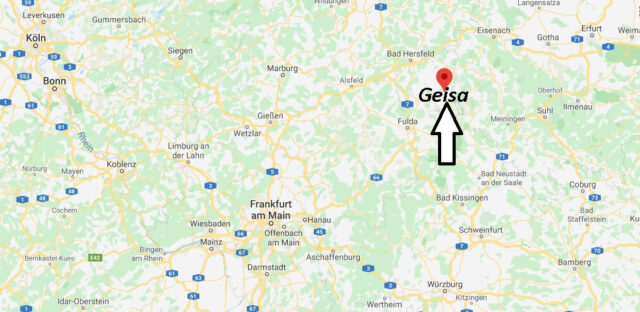 Wo liegt Geisa (36419)? Wo ist Geisa