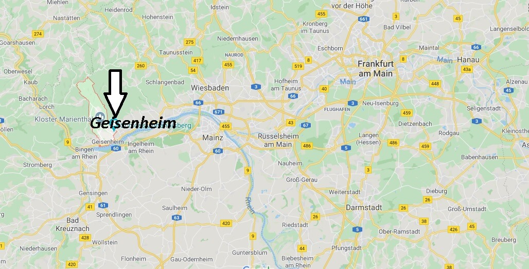 Wo liegt Geisenheim (65366)? Wo ist Geisenheim
