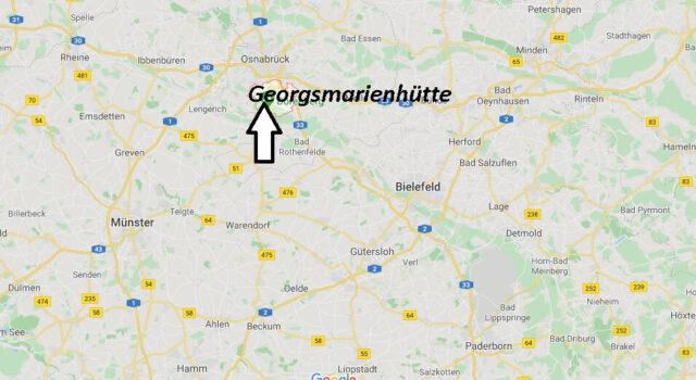 Wo liegt Georgsmarienhütte (49124)? Wo ist Georgsmarienhütte