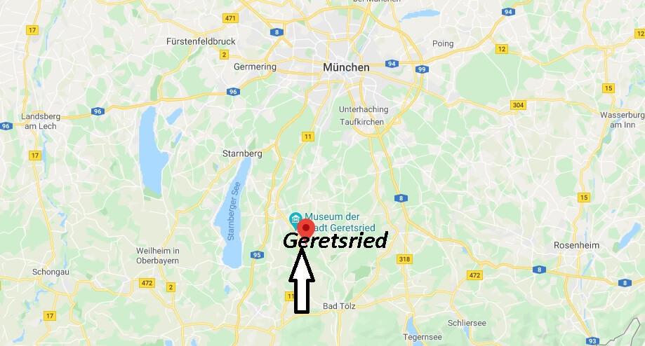 Wo liegt Geretsried (82538)? Wo ist Geretsried