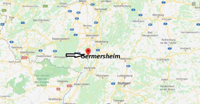Wo liegt Germersheim (76726)? Wo ist Germersheim