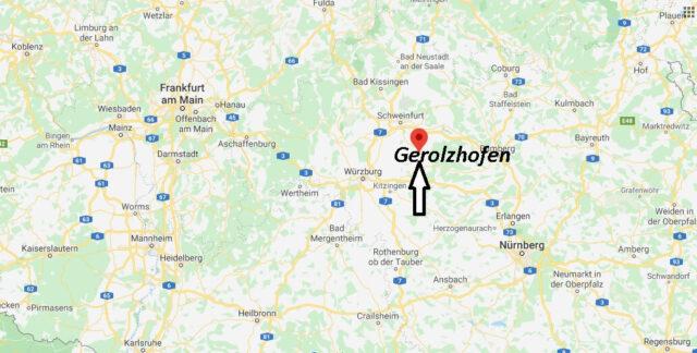 Wo liegt Gerolzhofen (97447)? Wo ist Gerolzhofen