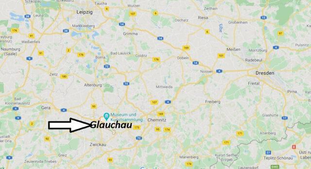 Wo liegt Glauchau (08371)? Wo ist Glauchau