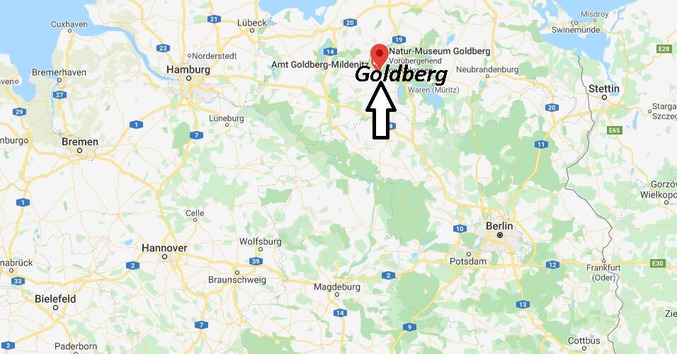 Wo liegt Goldberg (19399)? Wo ist Goldberg
