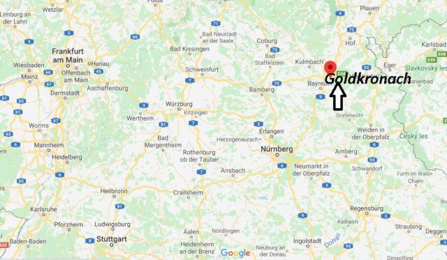 Wo liegt Goldkronach (95497)? Wo ist Goldkronach