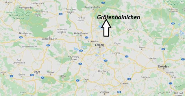 Wo liegt Gräfenhainichen (06773)? Wo ist Gräfenhainichen