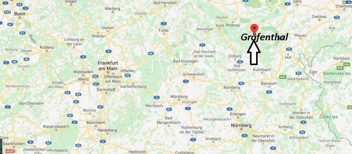 Wo liegt Gräfenthal? Wo ist Gräfenthal