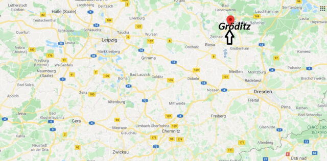 Wo liegt Gröditz (01609)? Wo ist Gröditz