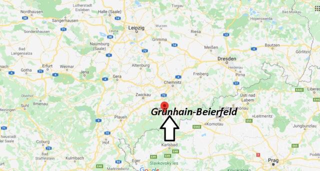 Wo liegt Grünhain-Beierfeld? Wo ist Grünhain-Beierfeld