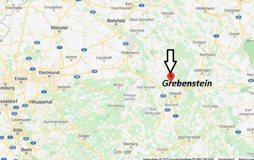 Wo liegt Grebenstein (34393)? Wo ist Grebenstein