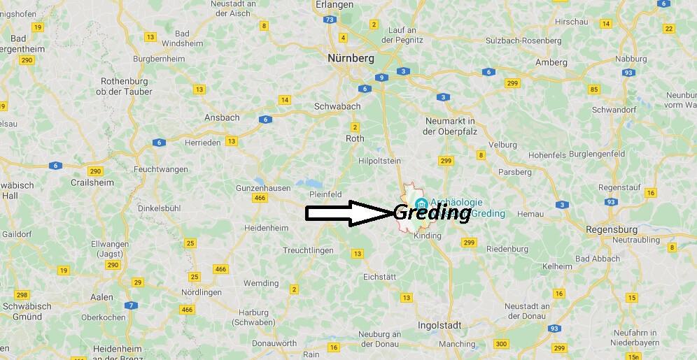 Wo liegt Greding (91171)? Wo ist Greding