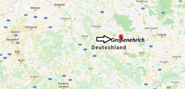 Wo liegt Großenehrich (99718)? Wo ist Großenehrich