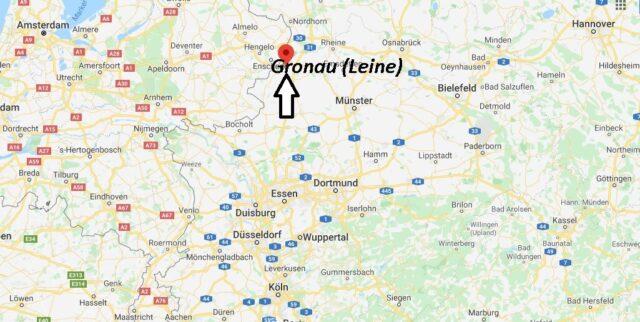 Wo liegt Gronau (Leine) (31028)? Wo ist Gronau (Leine)