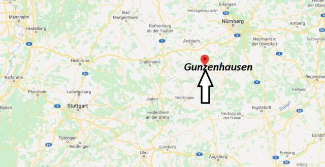 Wo liegt Gunzenhausen (91710)? Wo ist Gunzenhausen