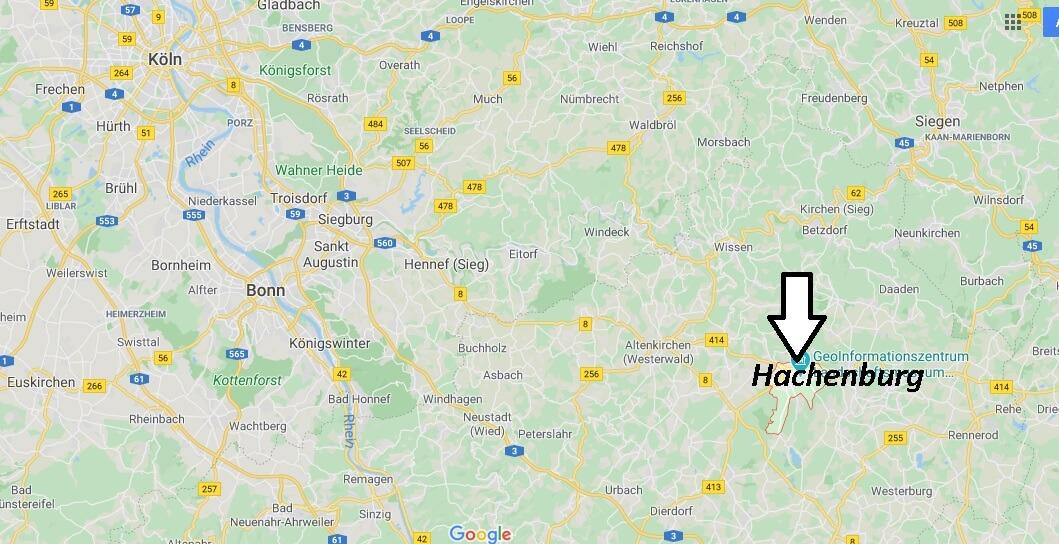 Wo liegt Hachenburg (57627)? Wo ist Hachenburg