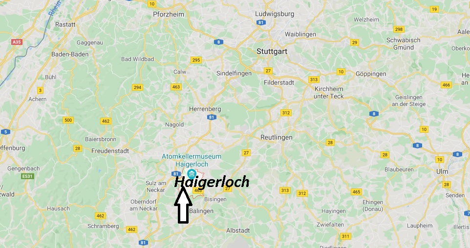 Wo liegt Haigerloch (72401)? Wo ist Haigerloch