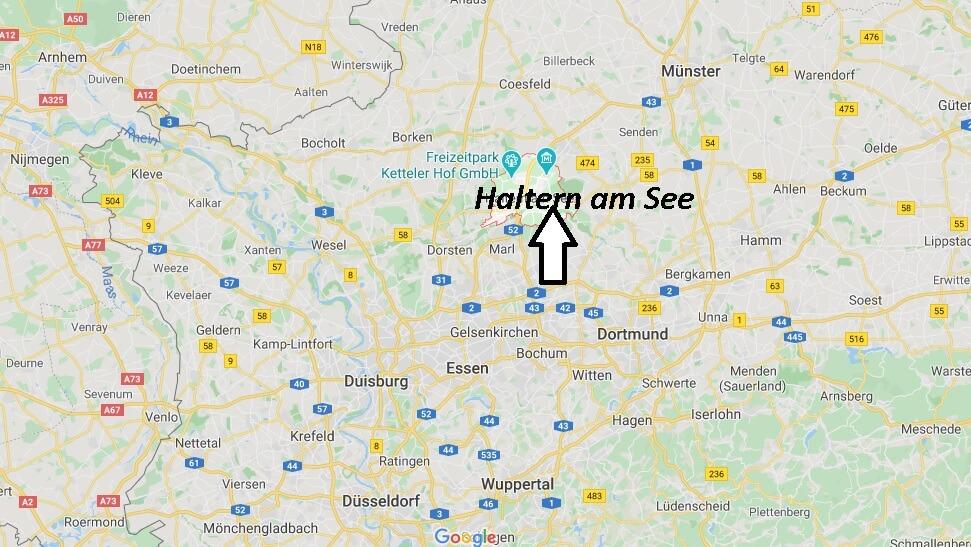 Wo liegt Haltern am See (45721)? Wo ist Haltern am See