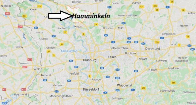 Wo liegt Hamminkeln (46499)? Wo ist Hamminkeln