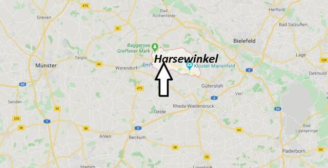 Wo liegt Harsewinkel (33428)? Wo ist Harsewinkel