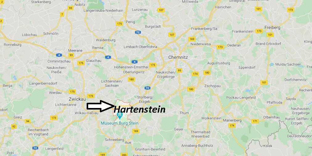 Wo liegt Hartenstein? Wo ist Hartenstein