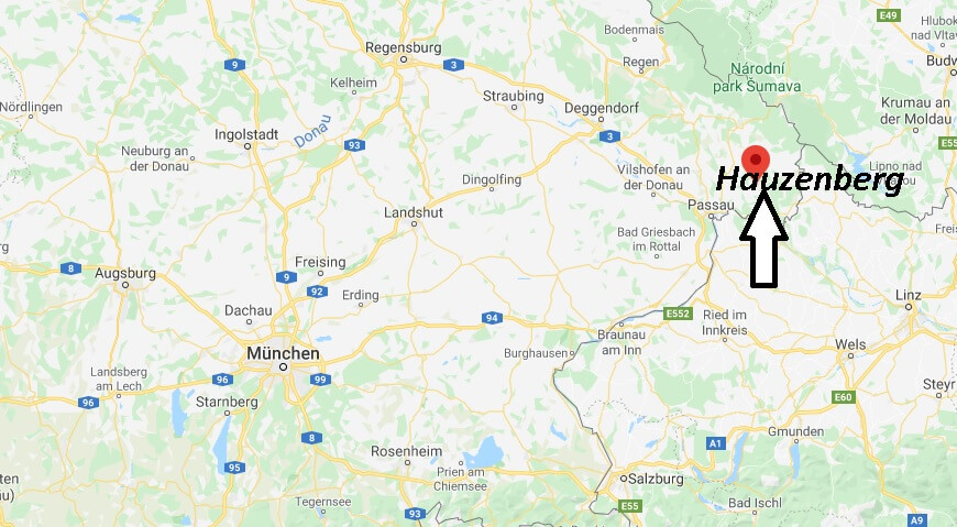 Wo liegt Hauzenberg (94051)? Wo ist Hauzenberg